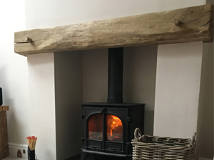 General Joinery - Oak Mantelpiece