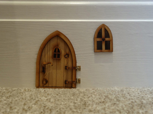 Skirting Board Mouse House